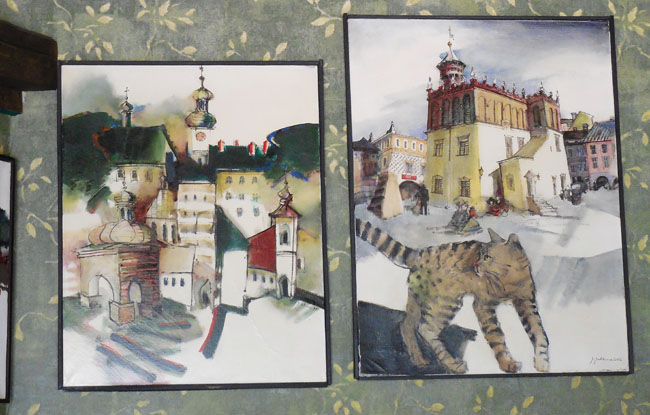 galeria obrazów w Braterskiej