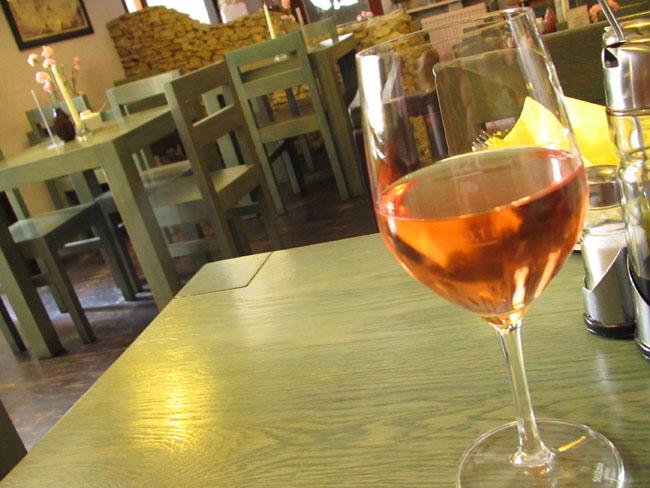 różowe wino