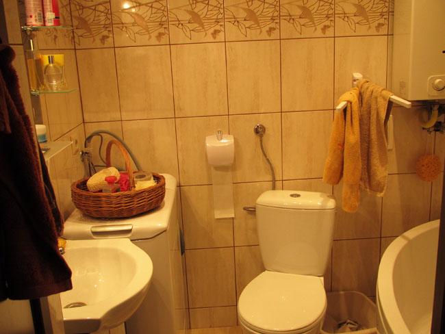 łazienka widok na całość