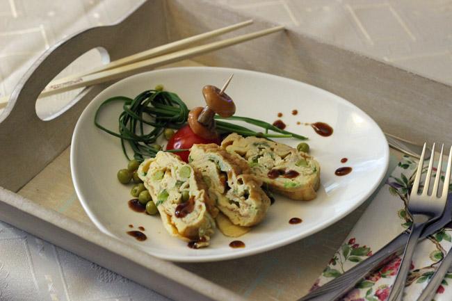 omlet japoński