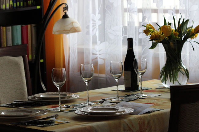 stół na party