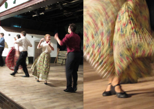 tańce w czardzie
