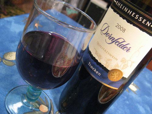 wino szczepu dornfeld