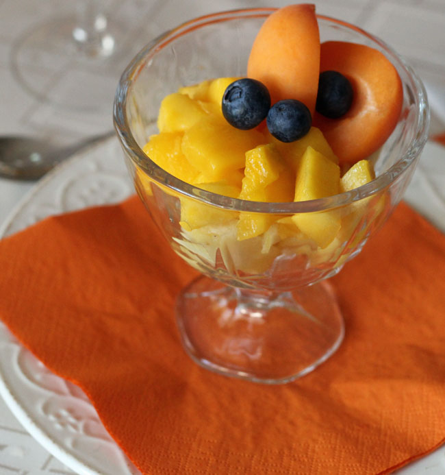 pucharek owoców