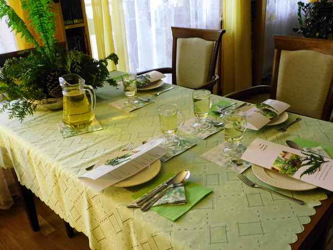 nakrycie stołu do kolacji